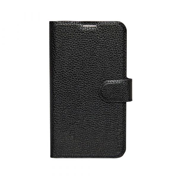 Fashion - Samsung S5 - vegansk læder - 91% beskyttelse - sort
