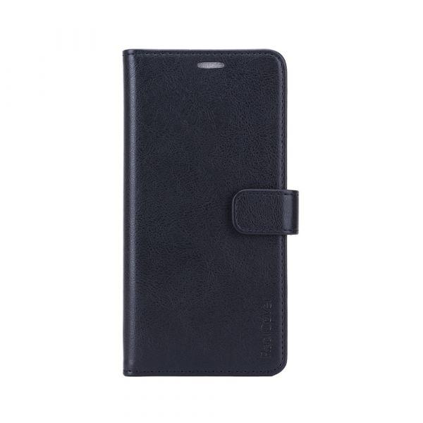 Fashion - Samsung A42 - vegansk læder - 86% beskyttelse - sort