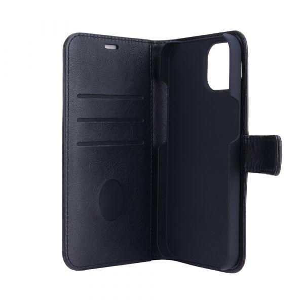 Fashion - iPhone 13 - vegansk læder - 86% beskyttelse - sort