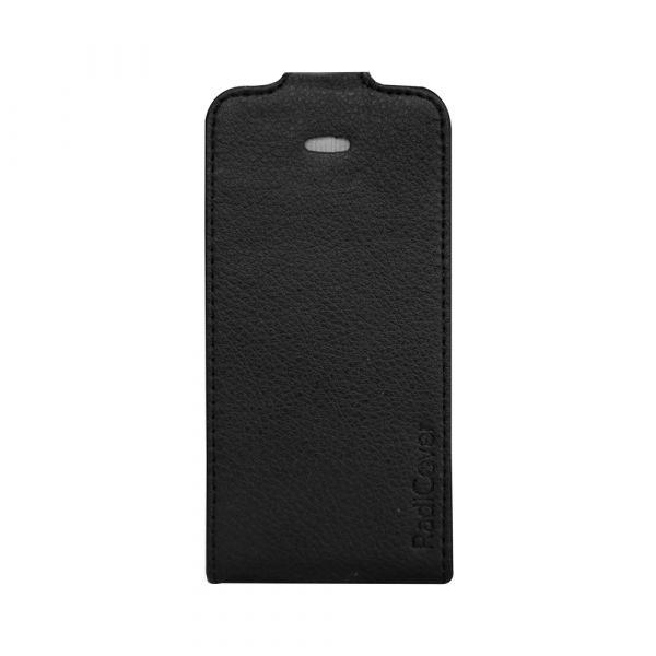Fashion - iPhone 4/4S - vegansk læder - 91% beskyttelse - sort