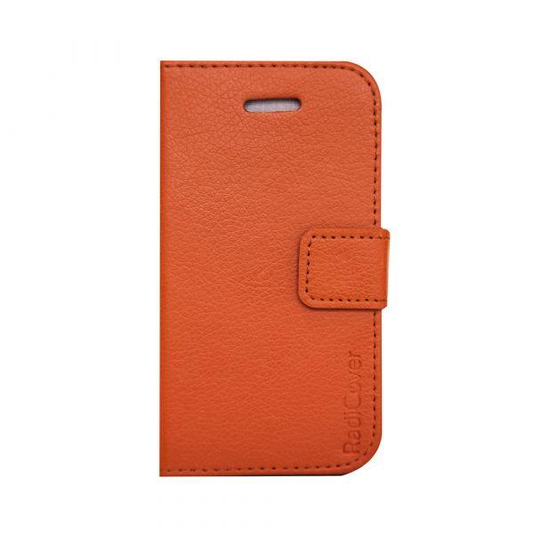 Fashion - iPhone 4/4S - vegansk læder - 91% beskyttelse - brun