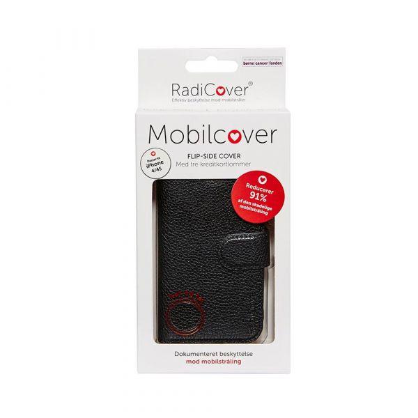 Fashion - iPhone 4/4S - 91% beskyttelse - sort