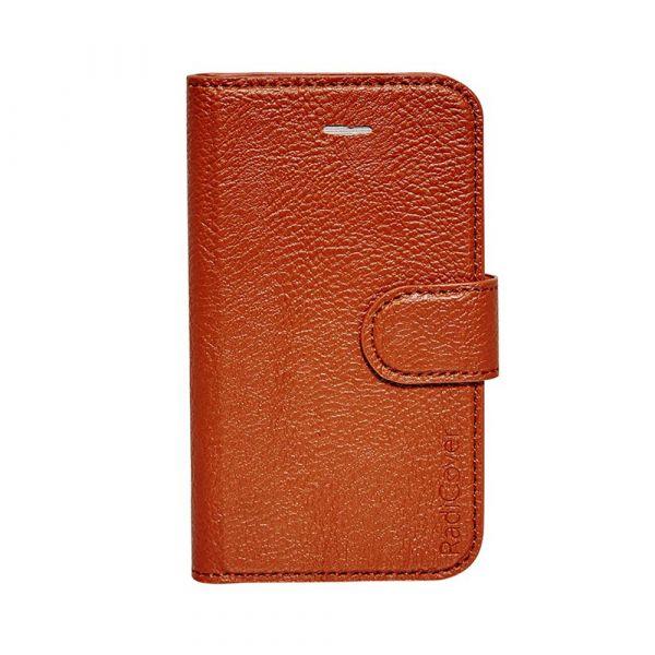 Fashion - iPhone 4/4S - 91% beskyttelse - Cognac Brun
