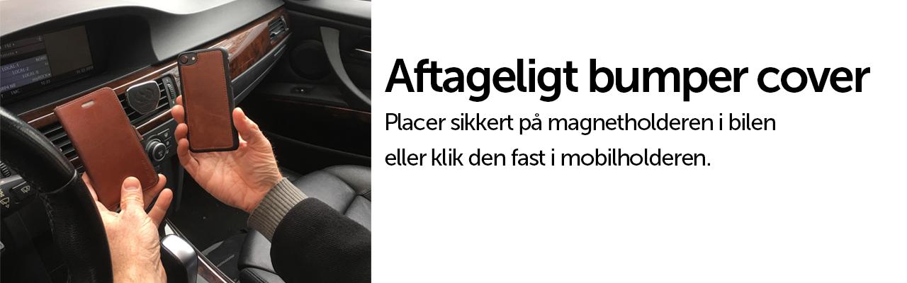 Aftageligt bumper cover - nemt og praktisk i bilen